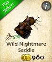 Wild Nightmare Saddle