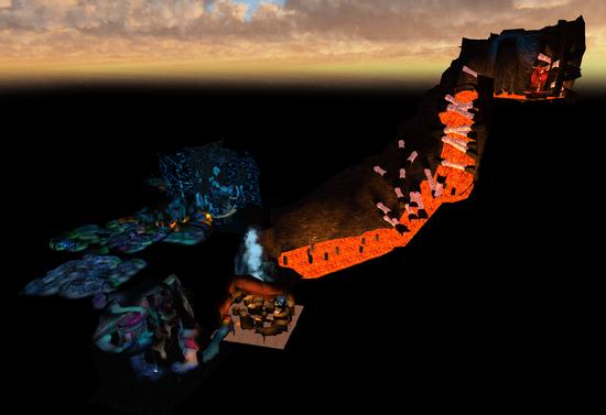 Hobgobbler nest map model 1