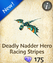 Deadly Nadder Hero Racing Stripes
