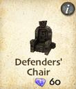 Defenders' Chair