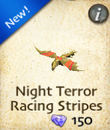 Night Terror Racing Stripes