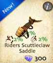 Riders Scuttleclaw Saddle