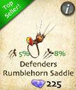 Defenders Rumblehorn Saddle