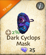 Dark Cyclops Mask