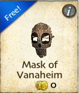Mask of Vanaheim