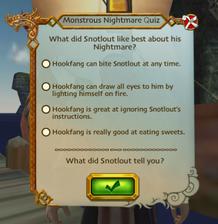 Nightmare quiz