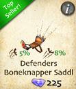 Defenders Boneknapper Saddle