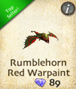 Rumblehorn Red Warpaint