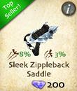 Sleek Zippleback Saddle