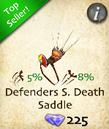 Defenders Screaing Death Saddle