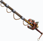 Unused fishing pole 3