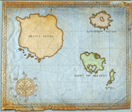 Where is dragon island hiccup s map
