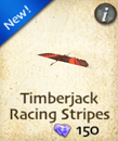 Timberjack Racing Stripes