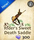 Rider's Sweet Death Saddle
