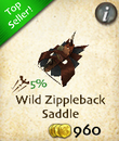 Wild Zippleback Saddle