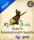 Rider's Smokebreath Saddle
