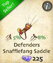 Defenders Snafflefange Saddle