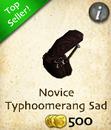Novice Typhoomerang Saddle