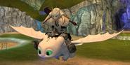 Pouncer glide