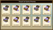 Gems hoard