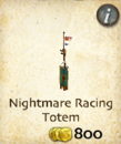 Nightmare Racing Totem