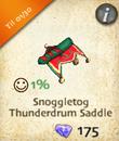 Snoggletog Thunderdrum Saddle
