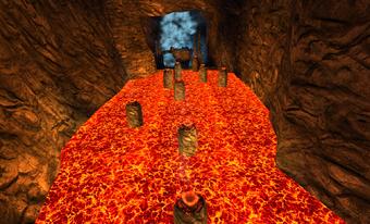 Hobgobbler nest geyser platform 8
