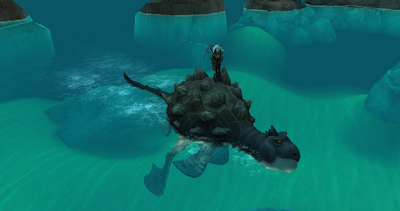 Impossible isle krayfin ride