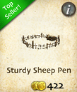 Sturdy Sheep Pen