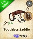 Toothless Saddle