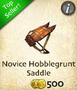 Novice Hobblegrunt Saddle