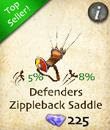 Defenders Zippleback Saddle
