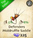 Defenders Moldruffle Saddle