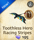 Toothless Hero Racing Stripes