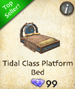 Tidal Class Platform Bed