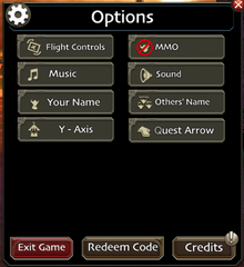 SoD options mobile