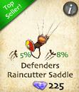 Defenders Raincutter Saddle
