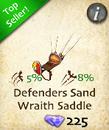 Defenders Sand Wraith Saddle