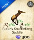 Rider's Snafflefang Saddle