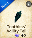 Toothless' Agility Tail