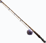 Unused fishing pole 2