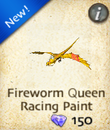 Fireworm Queen Racing Paint