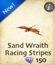 Sand Wraith Racing Stripes