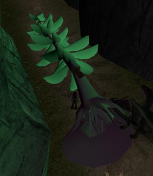 Untextured tree