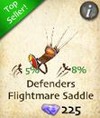 Defenders Flightmare Saddle
