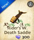 Rider's Whispering Death Saddle