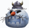 Snoggleprize viking snowman head