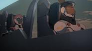 Allura and Kinkade in Air