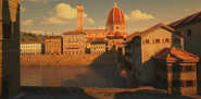 Basilica of Saint Mary of the Flower in Mr Peabody & Sherman