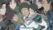 Lance's Family (You're the same size)